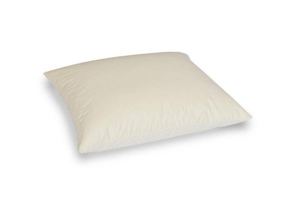 Poduszka z półpuchu 50x60 cm Ecru gładka Polpuch