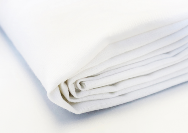 Białe bawełniane prześcieradło 220x240 cm - Polpuch Tekstylia dla domu