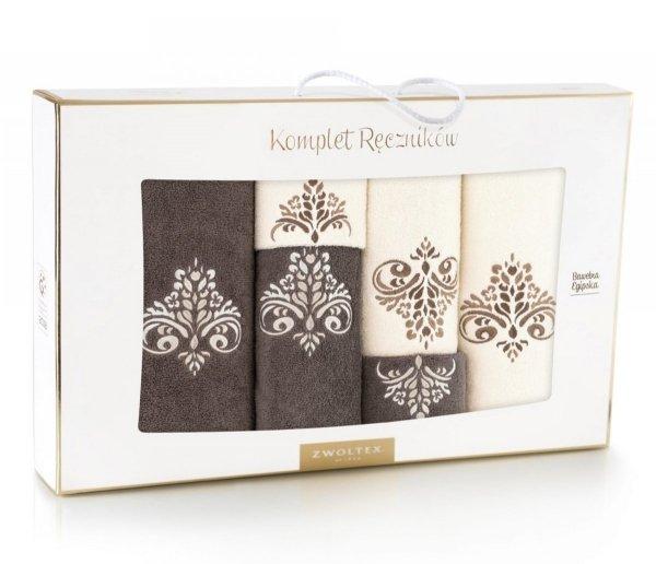 6 - częściowy komplet ręczników Zwoltex - Sułtan