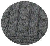 Szary Koc z bawełny
