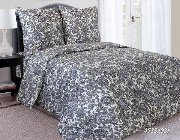 Pościel satynowa 160x200 Żakardowa Luxury 4533-03