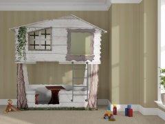 Łóżko domek na drzewie
