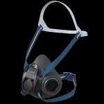 3 Półmaska ochronna SHIGEMATSU STS RS01 z wymiennymi filtrami