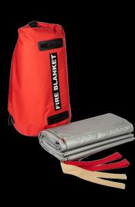 Samochodowa płachta gaśnicza Padtex Insulation SPG 6x8 Jednorazowego użytku + torba transportowa