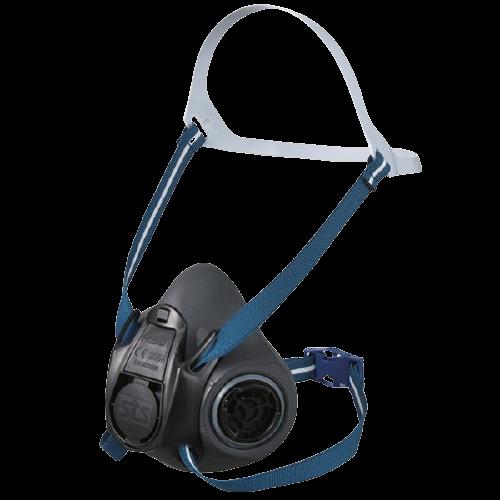 2. Półmaska ochronna SHIGEMATSU RS01 z wymiennymi filtrami P3 - zestaw