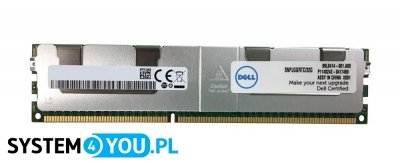 Pamięć Dell 32GB 4Rx4 DDR3 LRDIMM PC3-14900L 1866MHz