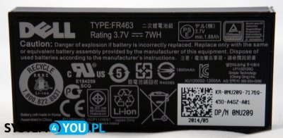 Bateria, 7Wh, 1C, PERCi 6.1, Type FR463