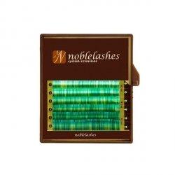 Rzęsy w kolorze malachitu B MIX