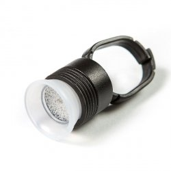 Černý prsten na barvu nebo lepidlo s kelímkem a houbičkou