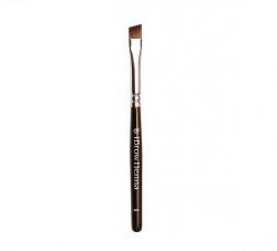 Angled brush for brow henna BH