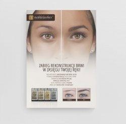 Plakat promujący rekonstrukcję brwi