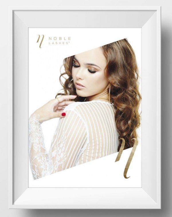 Plakat Noble Lashes Delicate