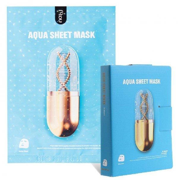 Feuchtigkeitsspendende Maske als Pad