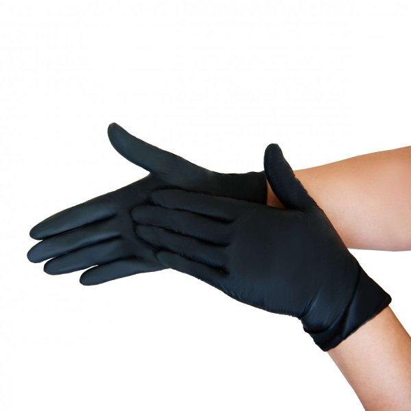 Rękawiczki jednorazowe  nitrylowe 100szt. różne kolory