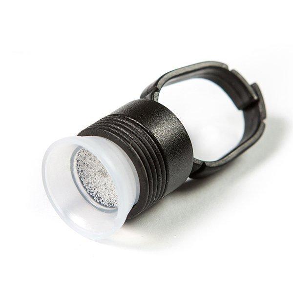 Pierścień czarny na barwnik lub klej z kubeczkiem z gąbką