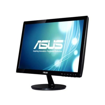 Monitor ASUS VS197DE (18,5; TN; 1366x768; VGA; kolor czarny)
