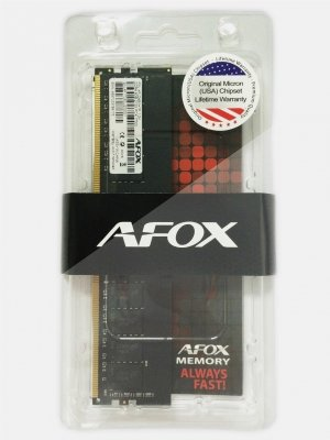 AFOX DDR4 4G 2400MHZ MICRON CHIP AFLD44EK1P