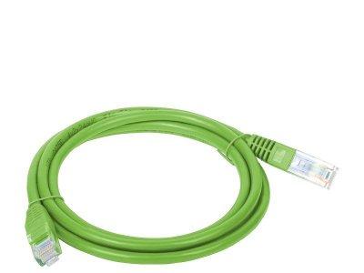 Patchcord UTP A-LAN KKU5ZIE0.5 (RJ45 - RJ45 ; 0,50m; UTP; kat. 5e; kolor zielony)