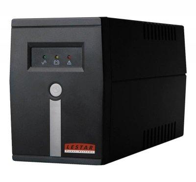 LESTAR MC-855U AVR 4xIEC USB zasilacz UPS Technologia line-interactive 800 VA 480 W 4 Gniazdo(a) sieciowe