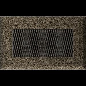 KRATKA kominkowa OSKAR 11x17 czarno-złota