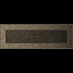 KRATKA kominkowa 11x32 czarno-złota