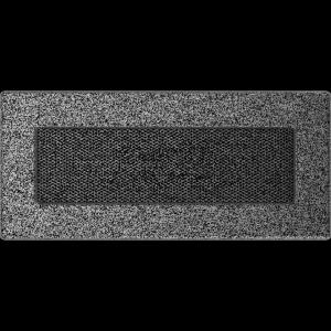 KRATKA kominkowa 11x24 czarno-srebrna