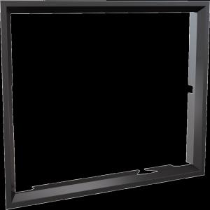 Ramka stalowa do wkładu NADIA 13 po przełożeniu drzwi
