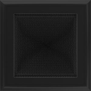KRATKA kominkowa OSKAR 17x17 czarna