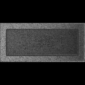 KRATKA kominkowa 17x37 czarno-srebrna