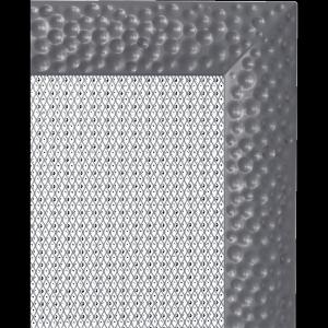 KRATKA kominkowa Venus 11x11 grafitowa