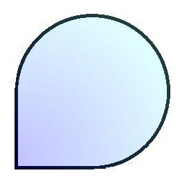 J1 110, podstawa szklana pod piec wolnostojący