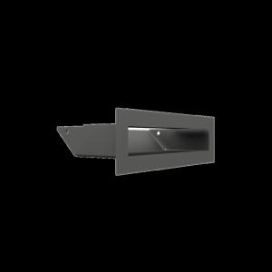Kratka kominkowa LUFT SF grafitowy 6x20