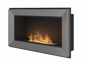 SIMPLE FIRE FRAME 900 INOX