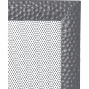 KRATKA kominkowa Venus 22x22 grafitowa