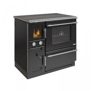 Kocioł kuchenny K 148 F czarny/chrom z płaszczem wodnym