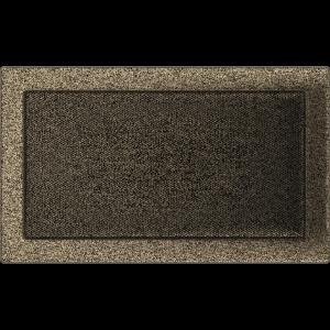 KRATKA kominkowa 22x37 czarno-złota