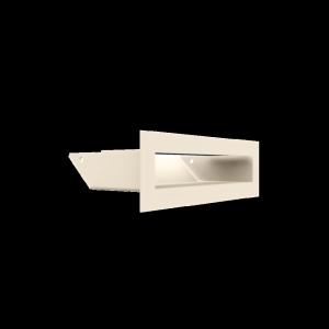 Kratka kominkowa LUFT kremowy 6x20