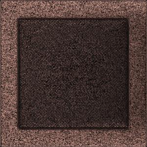 KRATKA kominkowa 22x22 miedziana malowana