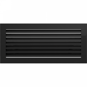 KRATKA kominkowa FRESH  czarna 17x37