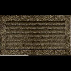 KRATKA kominkowa FRESH  czarno-złota 17x30