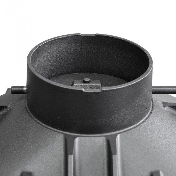 UNIFLAM 600 PLUS ECO z szybrem, doprowadzenie powietrza