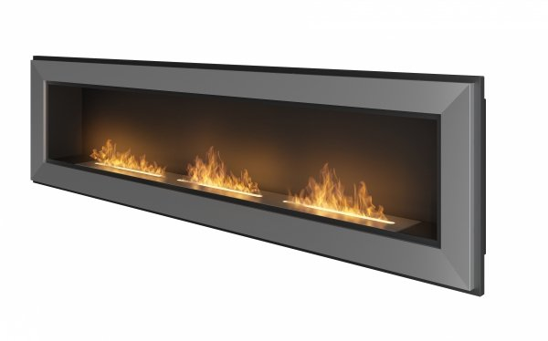 SIMPLE FIRE FRAME 1800 INOX