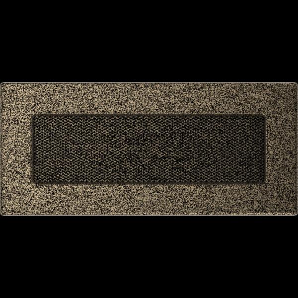 KRATKA kominkowa 11x24 czarno-złota