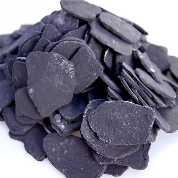 Ozdobne płatki ceramiczne czarne