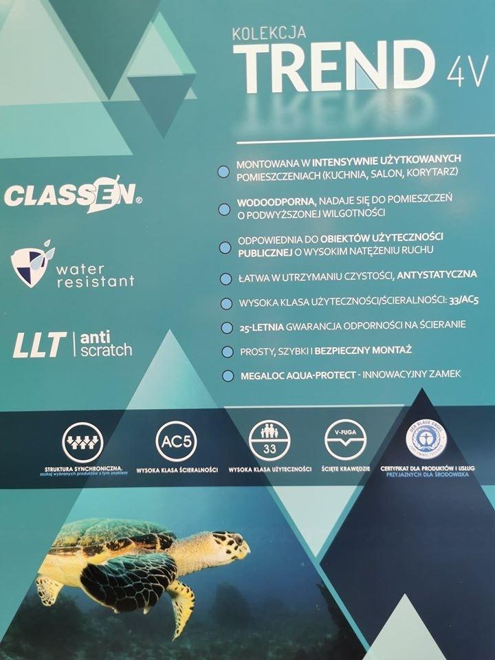 CLASSEN - TREND 4 V / Dąb Vanda 8mm AC5 V4  52605