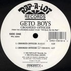 Geto Boys - Crooked Officer (12'')