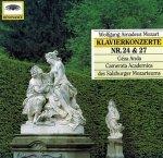 Mozart - Klavierkonzerte No.24 / No.27 (CD)
