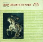 Beethoven - Josef Suk, Czech Philharmonic Orchestra, Conductor Franz Konwitschny - Violin Concerto In D Major, Op. 61 (LP)