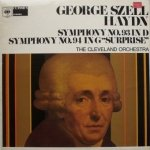 Haydn / The Cleveland Orchestra - Symphony No. 93 In D / Symphony No. 94 In G Surprise (LP)