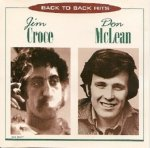 Jim Croce / Don McLean - Back To Back Hits (CD)